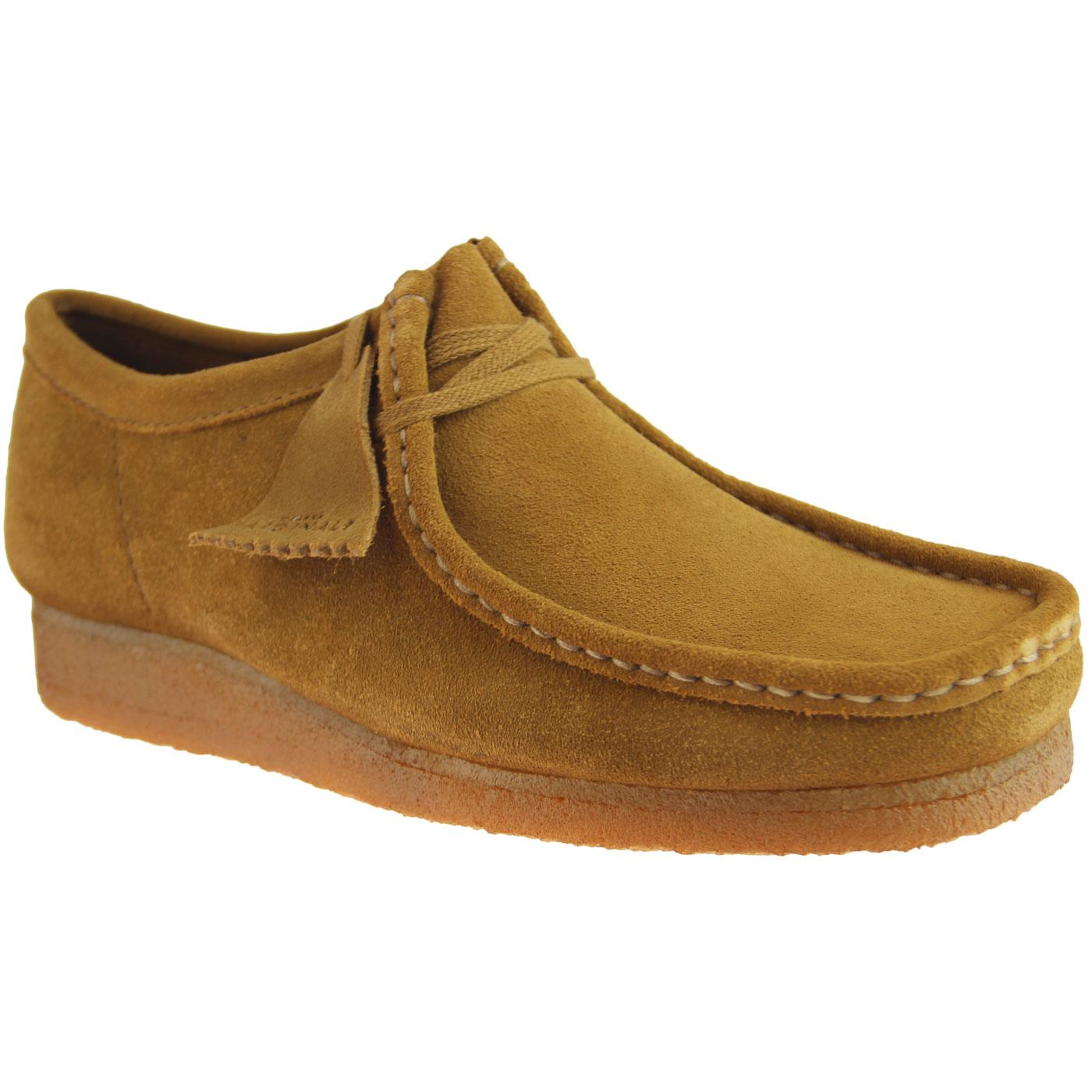 Wallabee CLARKS ORIGINALS Mod Moccasin Shoes Cola