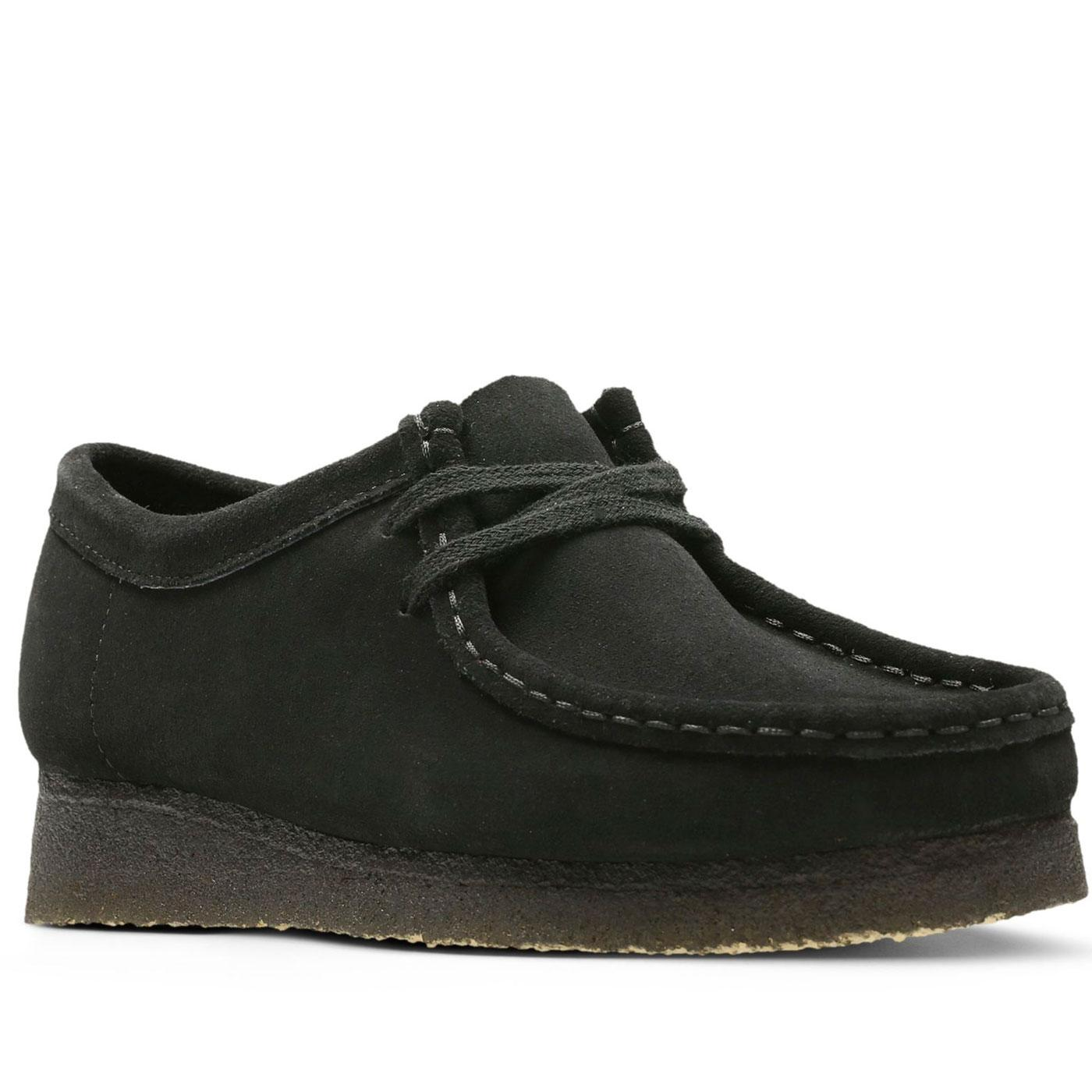 Wallabee CLARKS ORIGINALS Women's Suede Shoes (B)