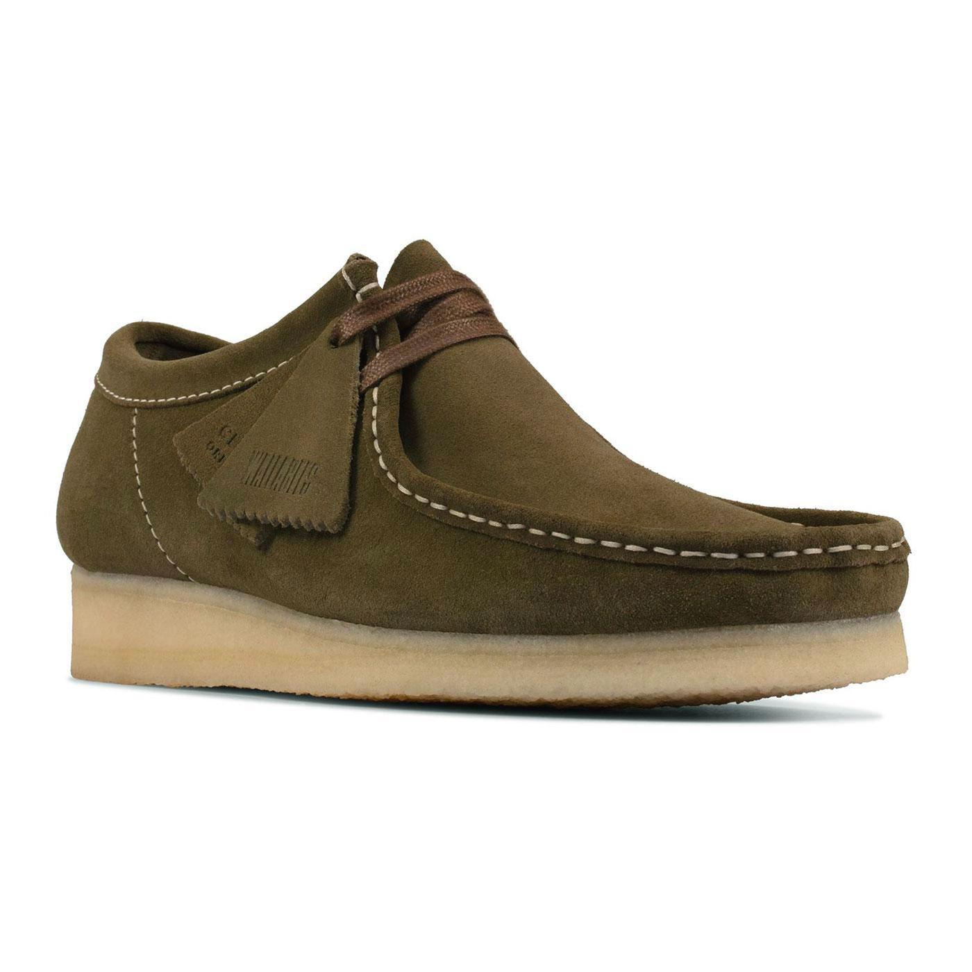 Wallabee CLARKS ORIGINALS Mod Suede Shoes (Khaki)