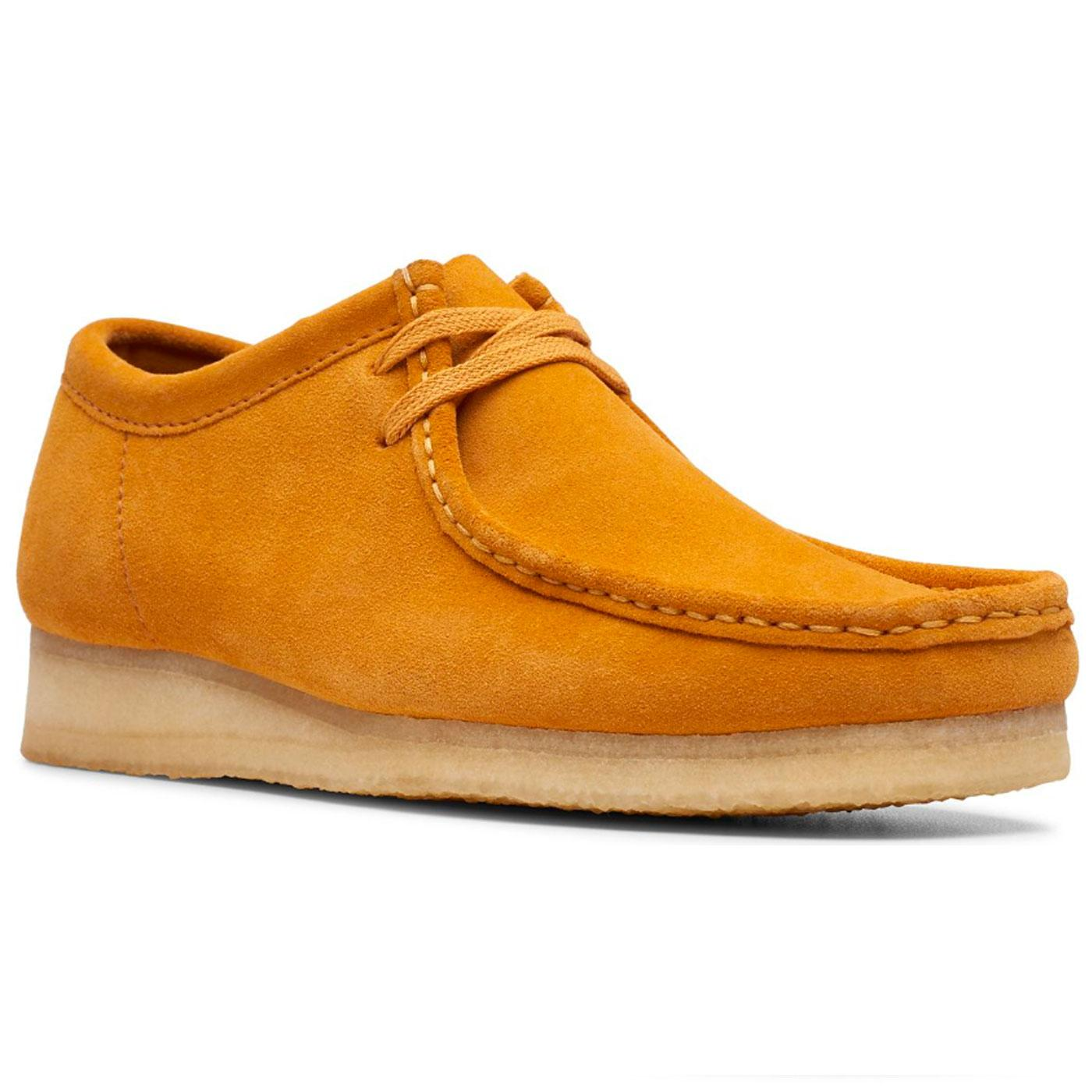 Wallabee Women's CLARKS ORIGINALS Suede Shoes (T)