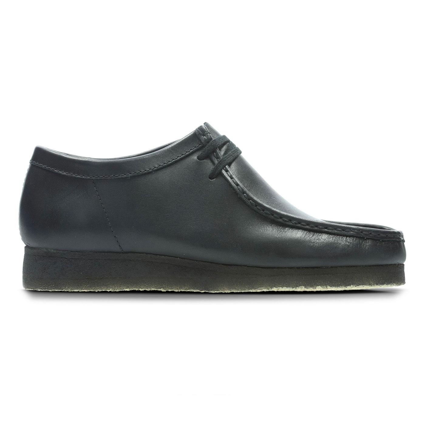 Wallabee CLARKS ORIGINALS Mod Black Leather Shoes