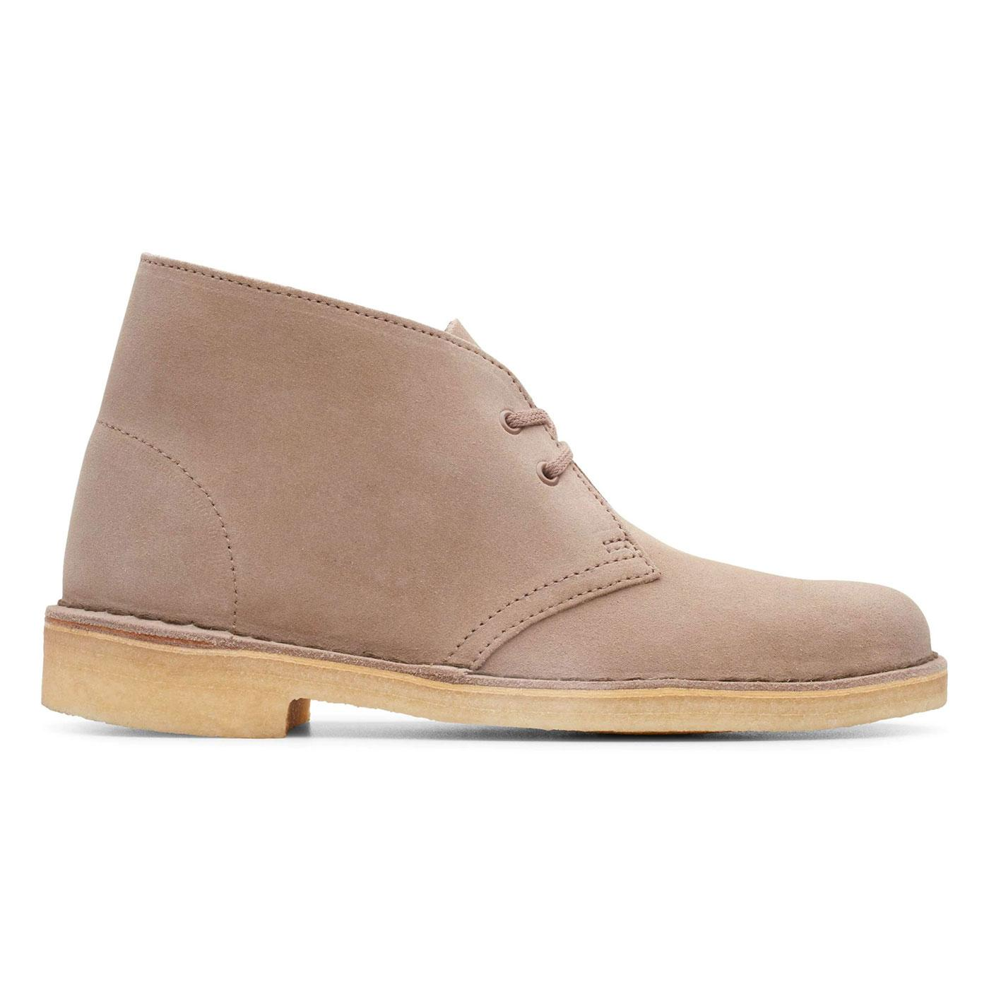 CLARKS ORIGINALS Womens Mod Suede Desert Boots (M)