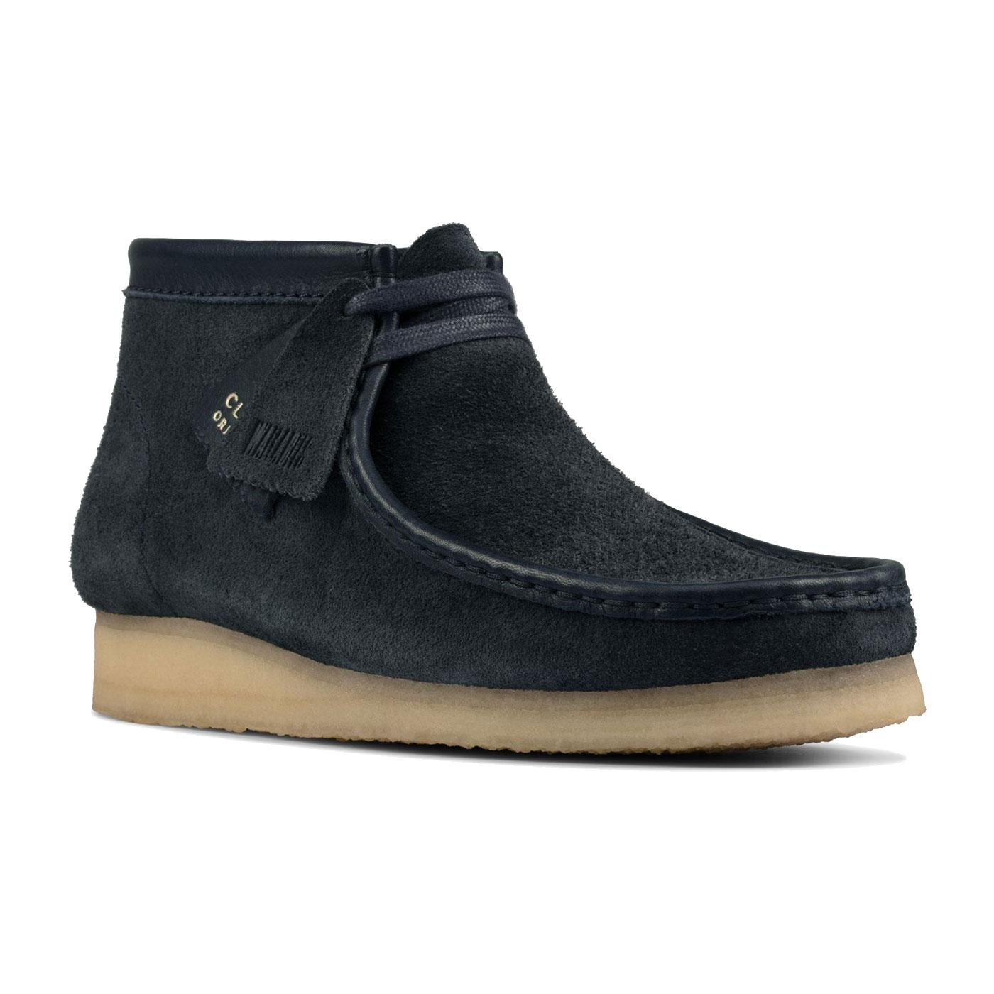 Wallabee Boots CLARKS ORIGINALS Hairy Suede Boots