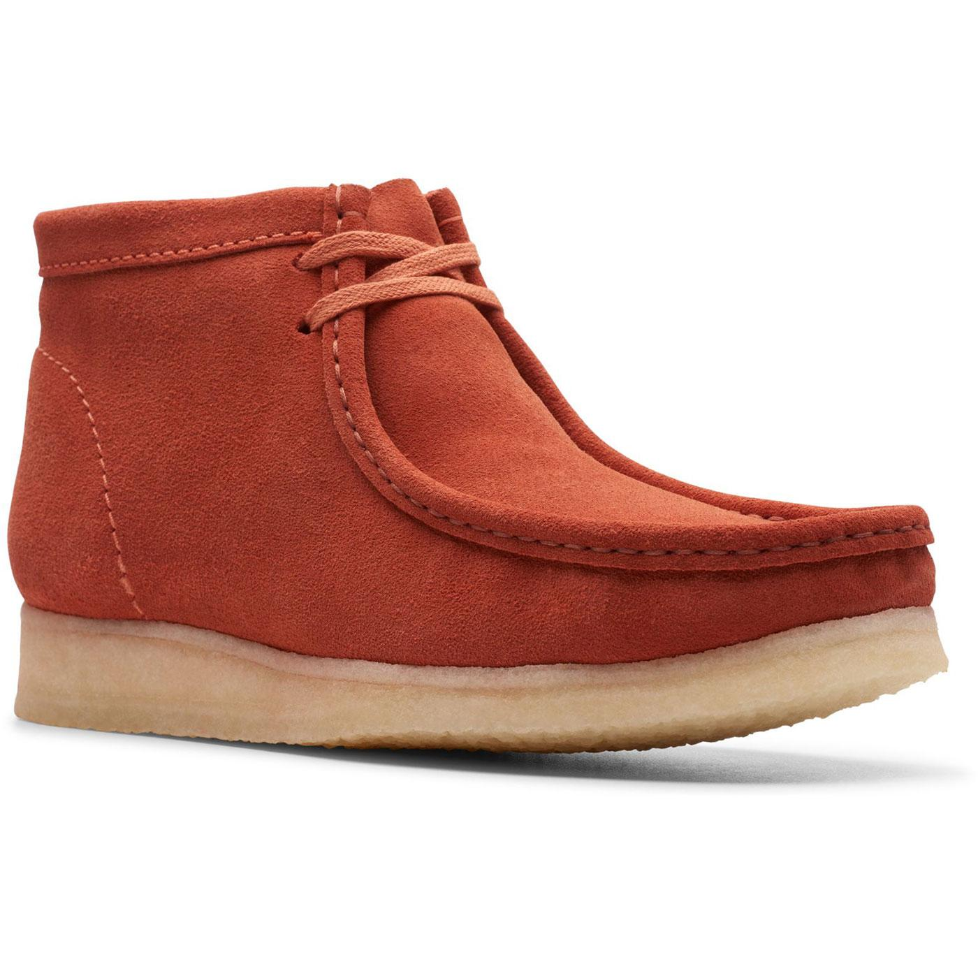 Wallabee Boots CLARKS ORIGINALS Mod Suede Shoes BO