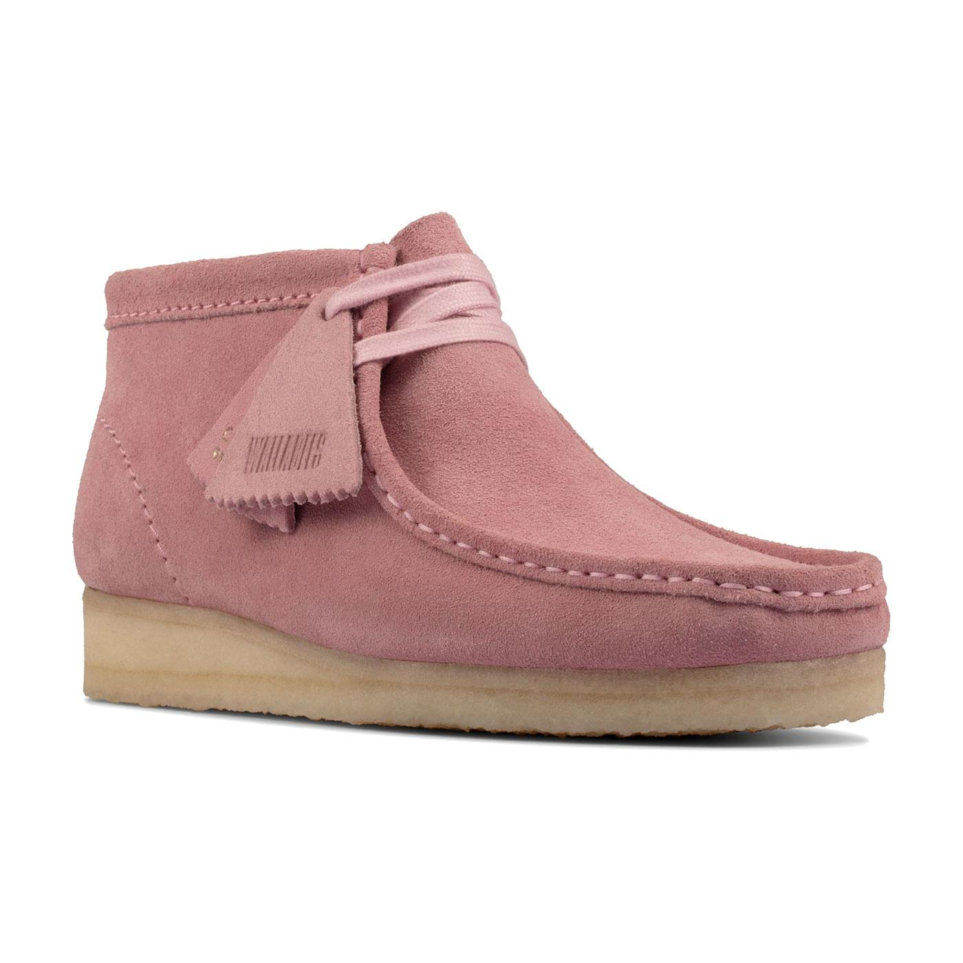 Wallabee Boots Suede CLARKS ORIGINALS Womens Boots
