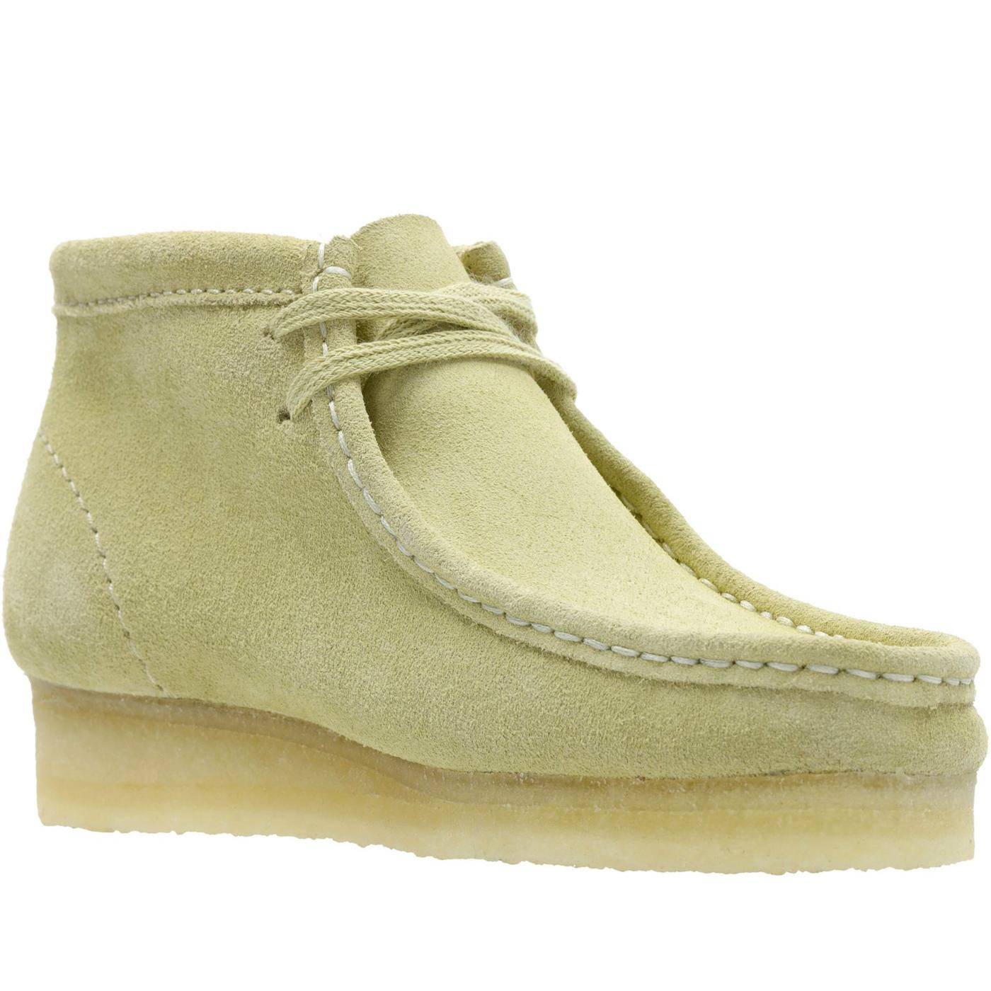 Wallabee Boot CLARKS ORIGINALS Maple Suede Boots