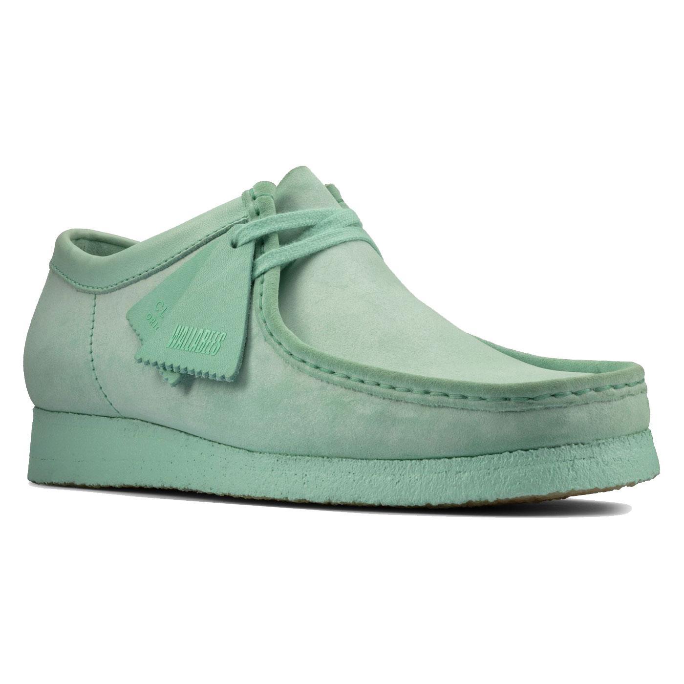 Wallabee Suede CLARKS ORIGINALS Womens Shoes MINT
