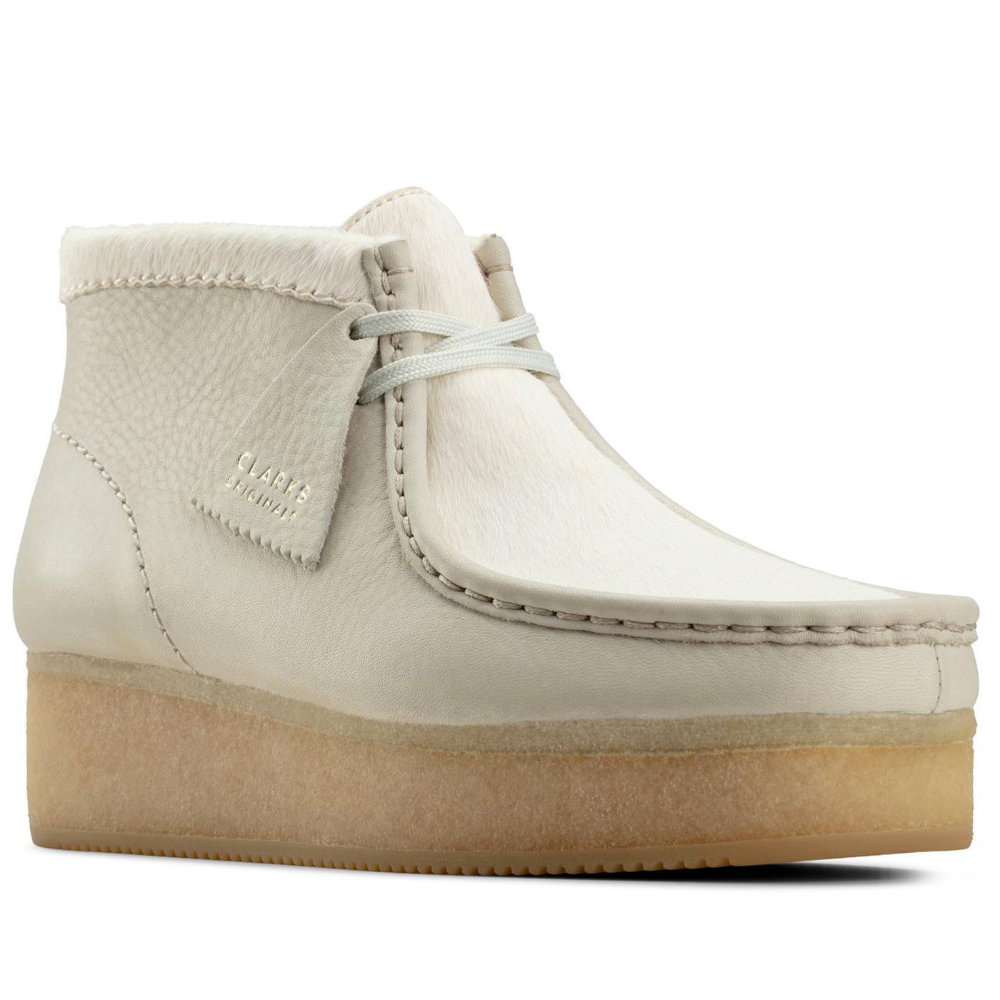 Wallabee Wedge CLARKS ORIGINALS Suede Boots (W)