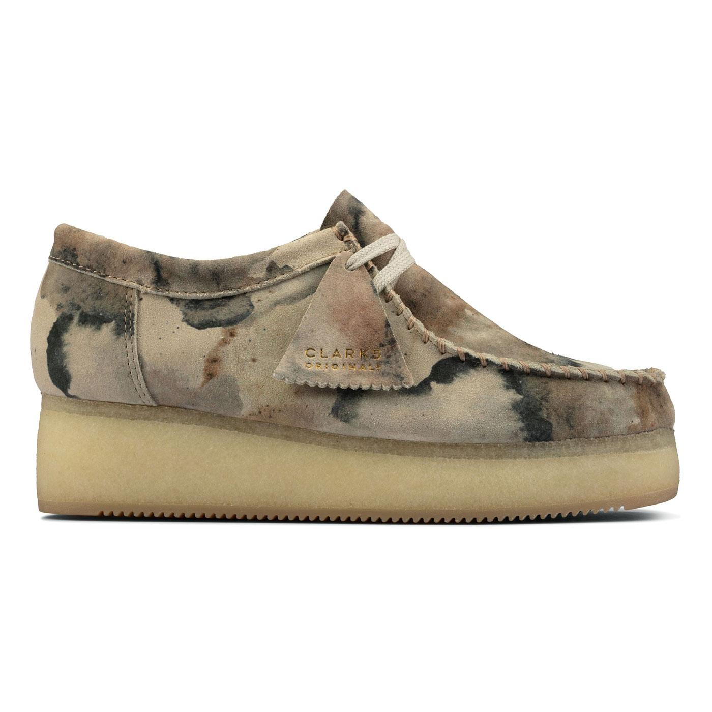 Wallacraft Lo CLARKS ORIGINALS Suede Camo Creepers