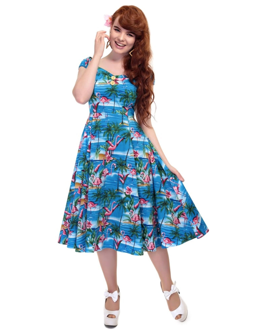 Dolores COLLECTIF Retro 50s Vintage Doll Dress