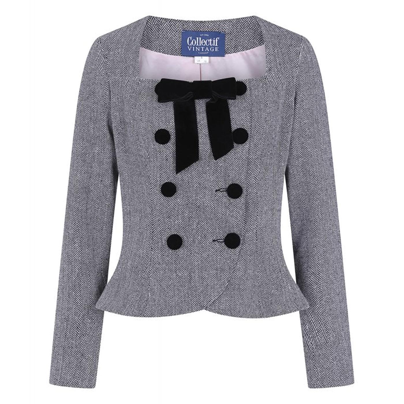 Agatha COLLECTIF Vintage Herringbone Jacket