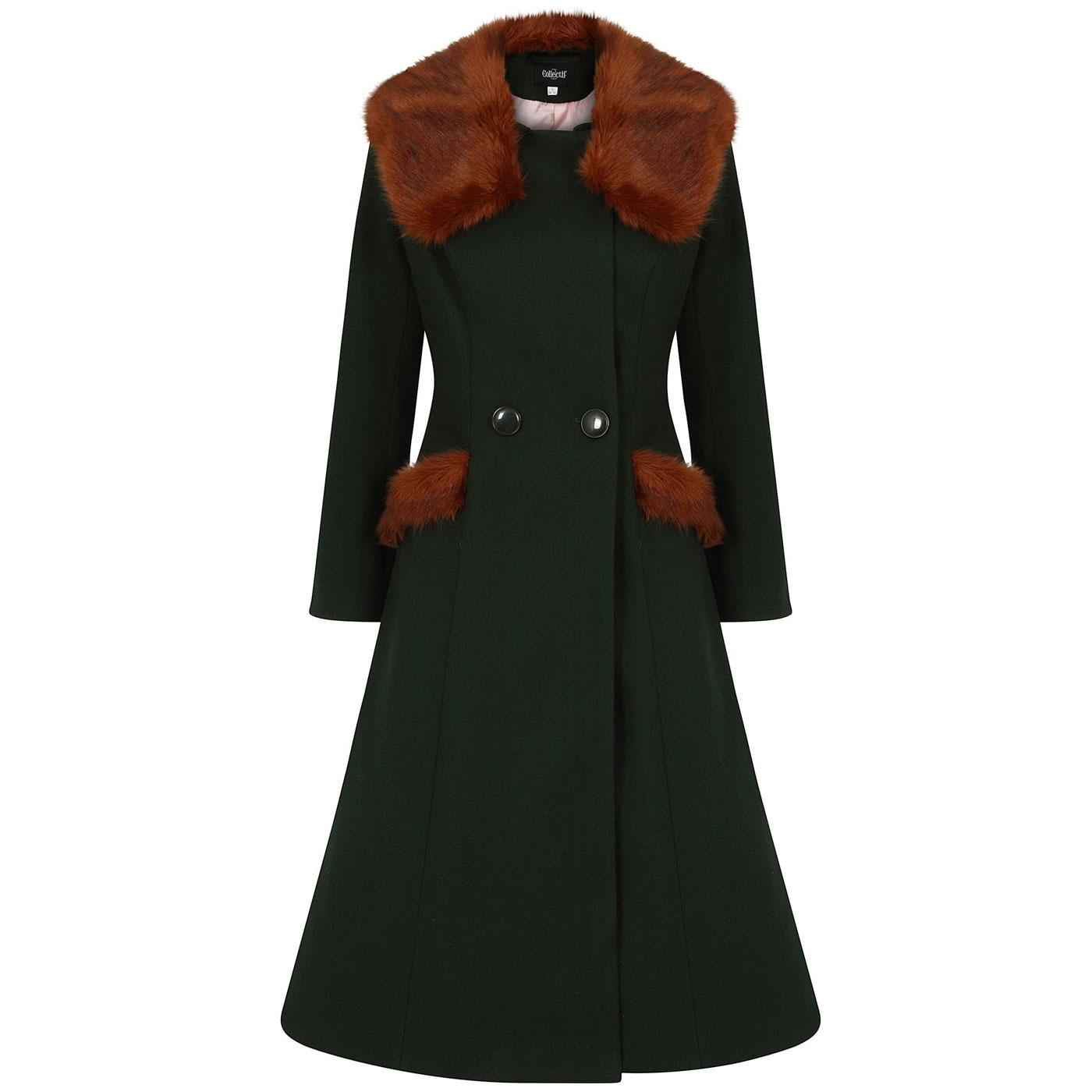 Annasofia COLLECTIF Retro Vintage Winter Coat