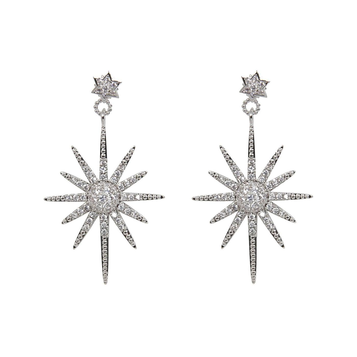 + Gracey COLLECTIF Retro 50s Atomic Star Earrings