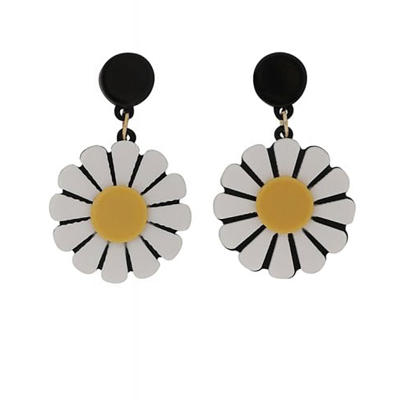 + Daisy Love COLLECTIF Retro 60s Boho Earrings