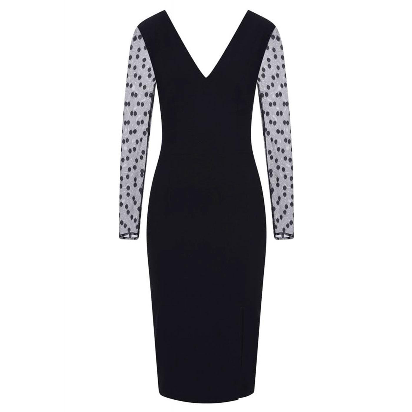 Germana Polka Dots COLLECTIF Occasion Pencil Dress