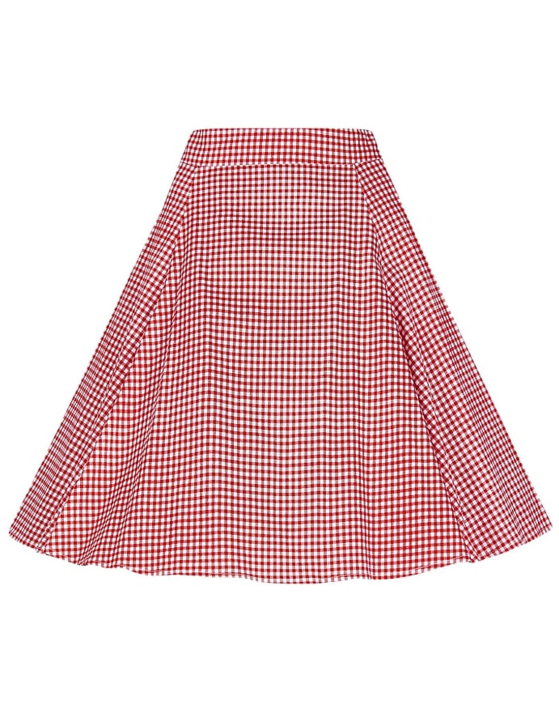 Tammy COLLECTIF Retro 50s Gingham Circle Skirt