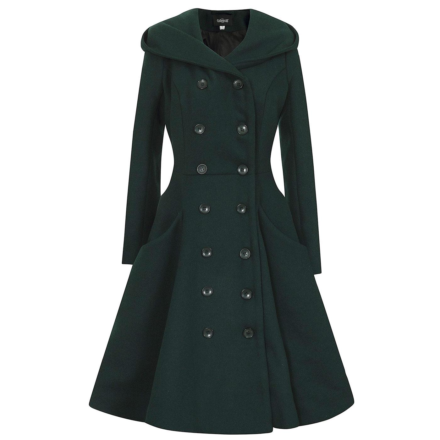 Heather COLLECTIF Hooded Autumnal Swing Coat G