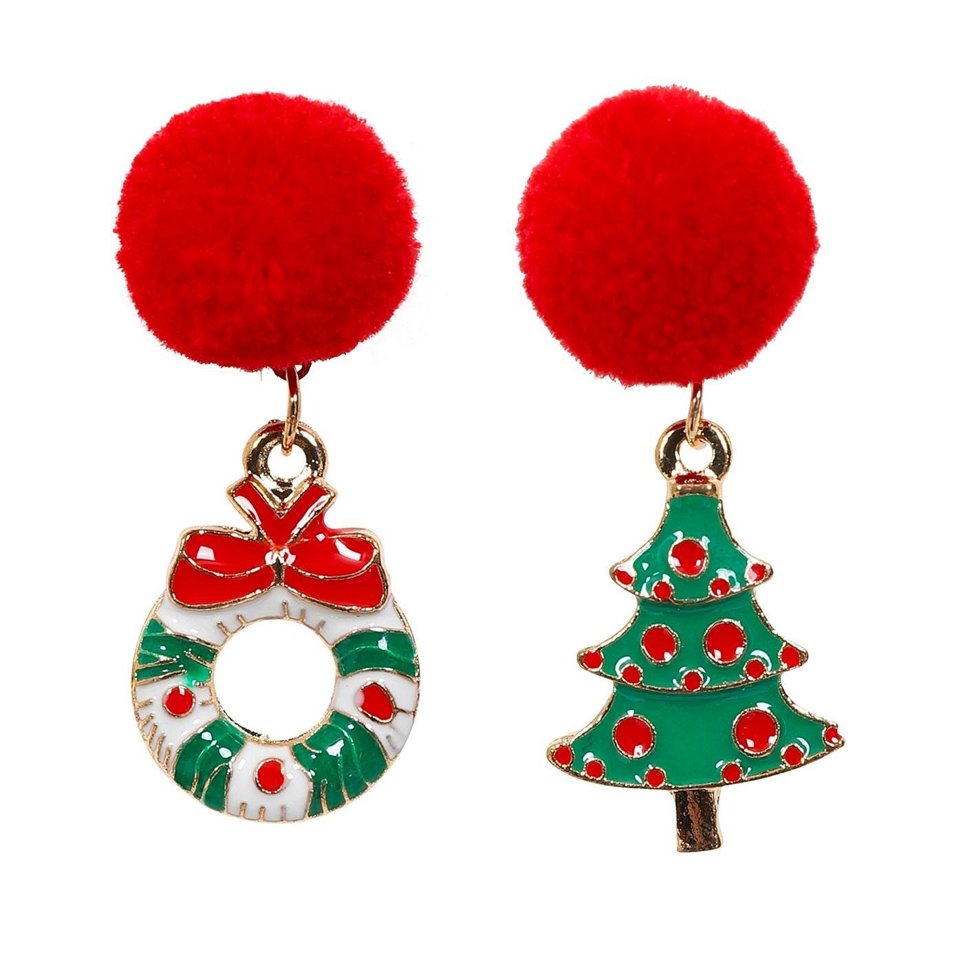 + Jingle Jolly COLLECTIF Christmas Tree Earrings