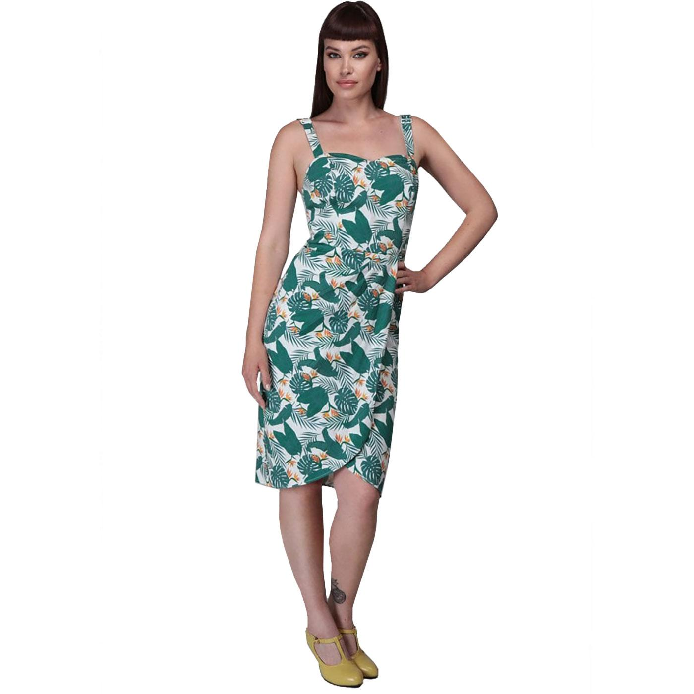 Mahina COLLECTIF Bird Of Paradise Sarong Dress