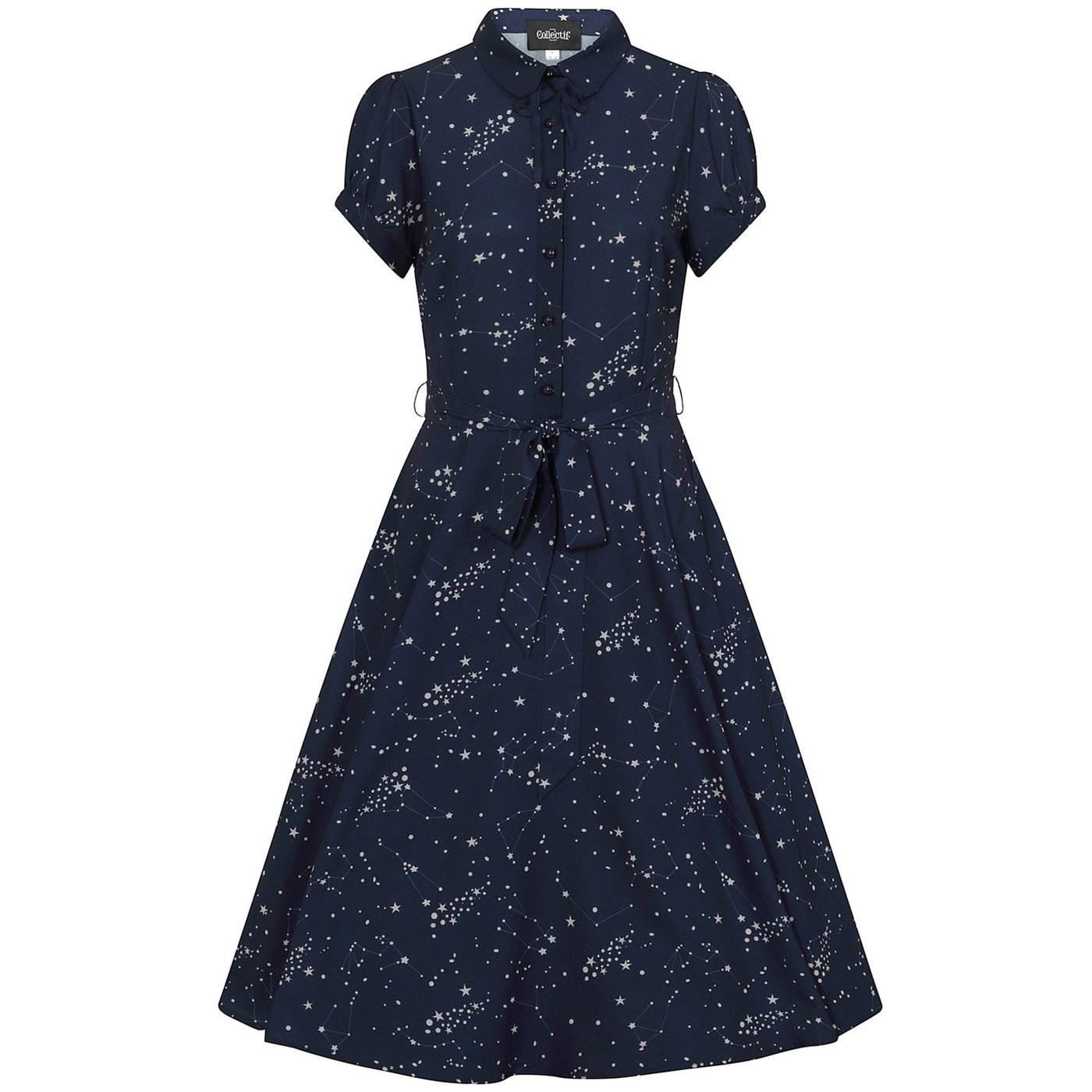 Mary Grace COLLECTIF Zodiac Constellation Dress