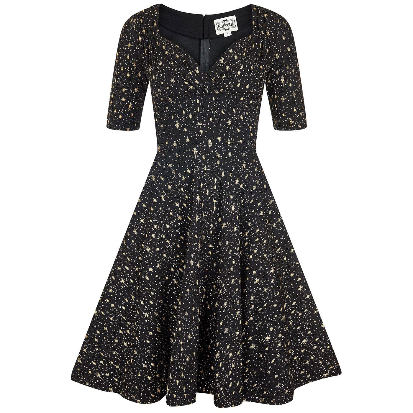 Trixie COLLECTIF Atomic Star Doll Party Dress