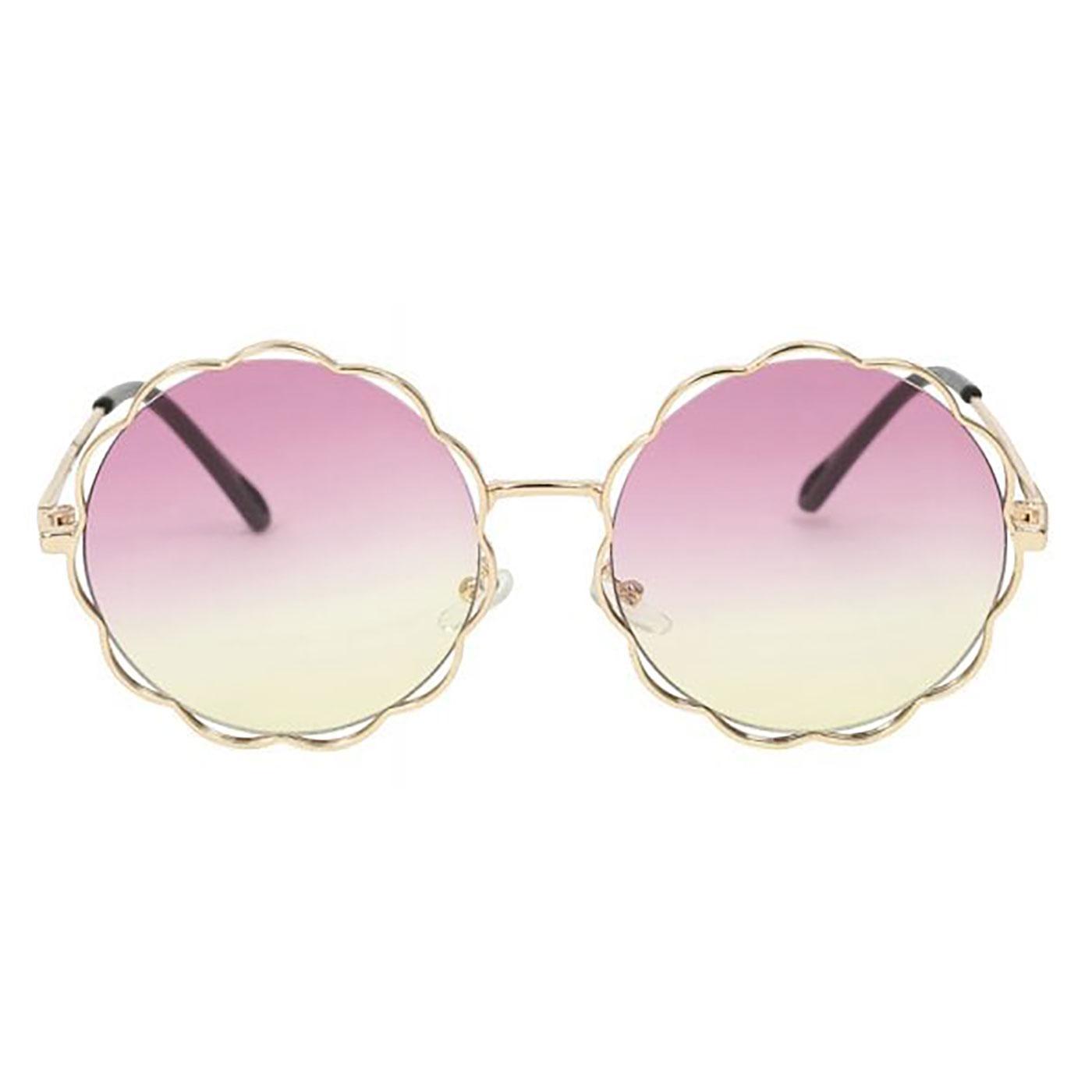 Vicki COLLECTIF Vintage Floral Shaped Sunglasses