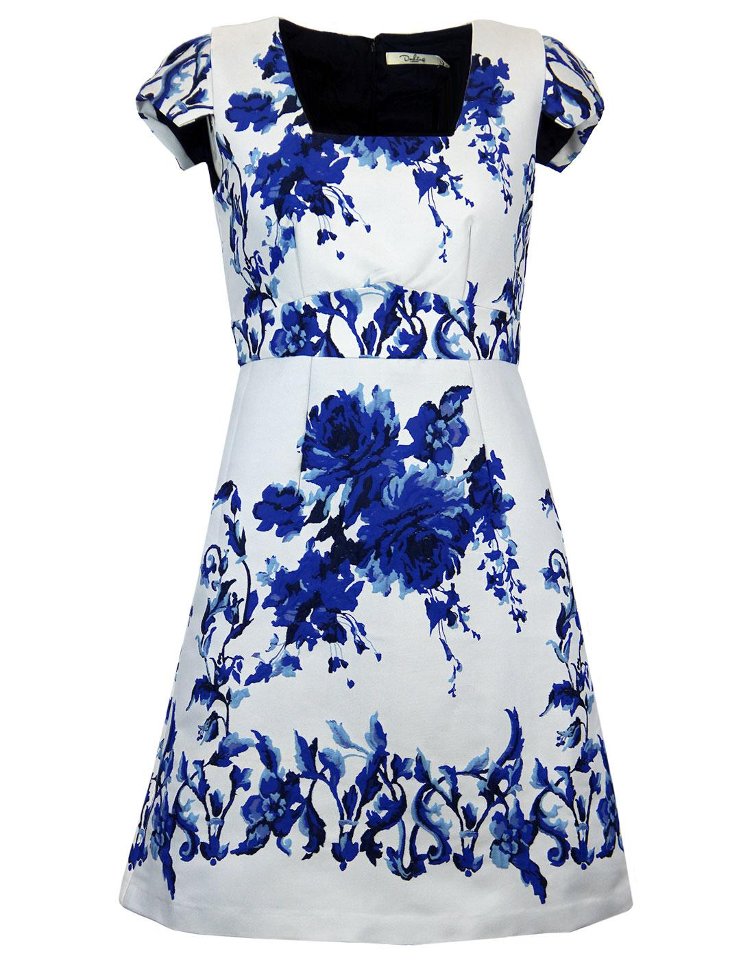 Valentena DARLING Retro 60s Embroidered Dress