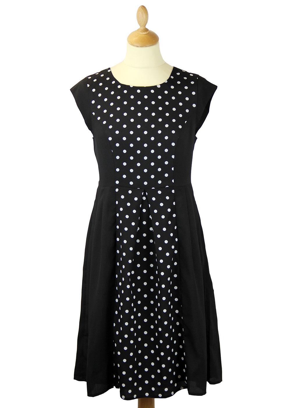 Lily DARLING Retro 60s Polka Dot Dress(B)