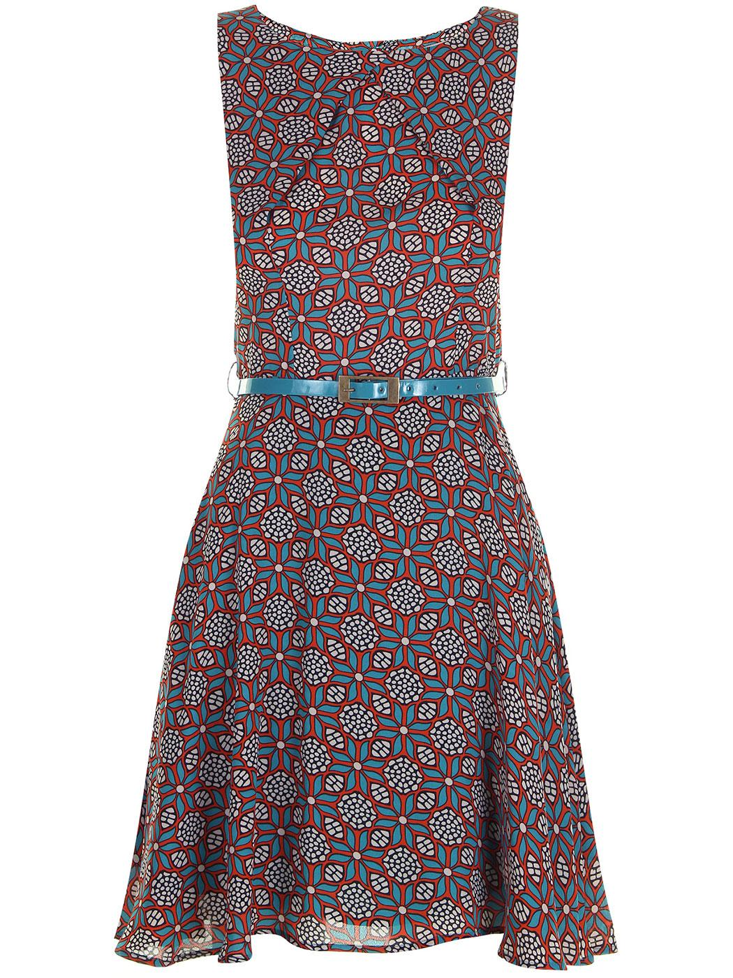 Rebecca DARLING Retro 60s Fit and Flare Dress
