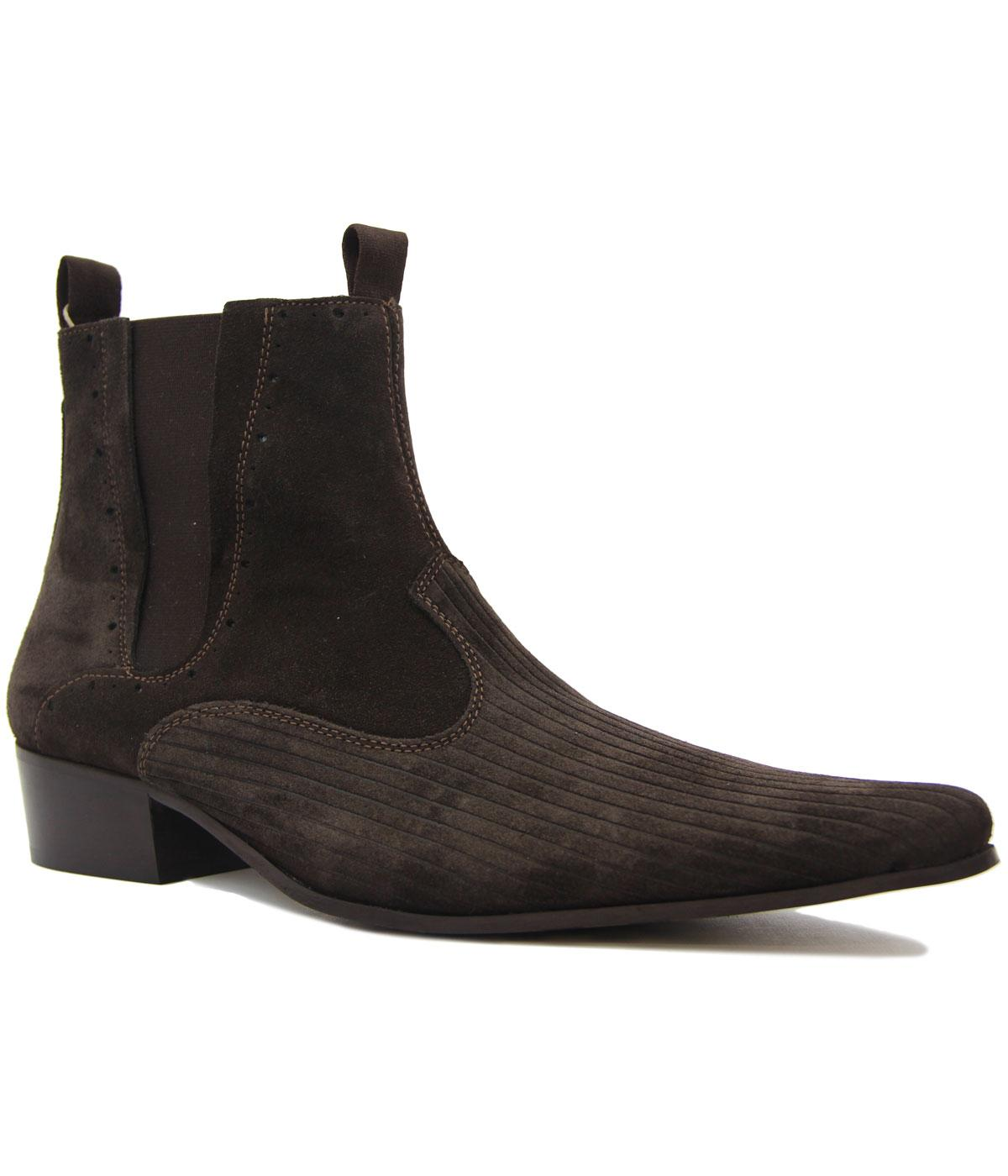 Freakbeat DELICIOUS JUNCTION Suede Chelsea Boots