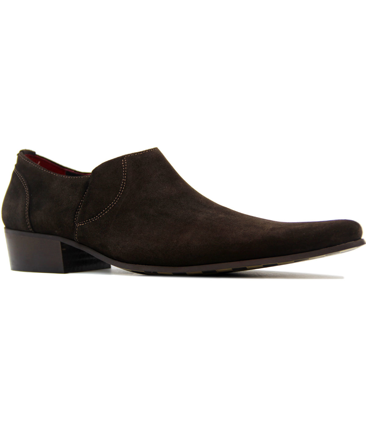 Strummer DELICIOUS JUNCTION Mod Suede Cuban Shoes