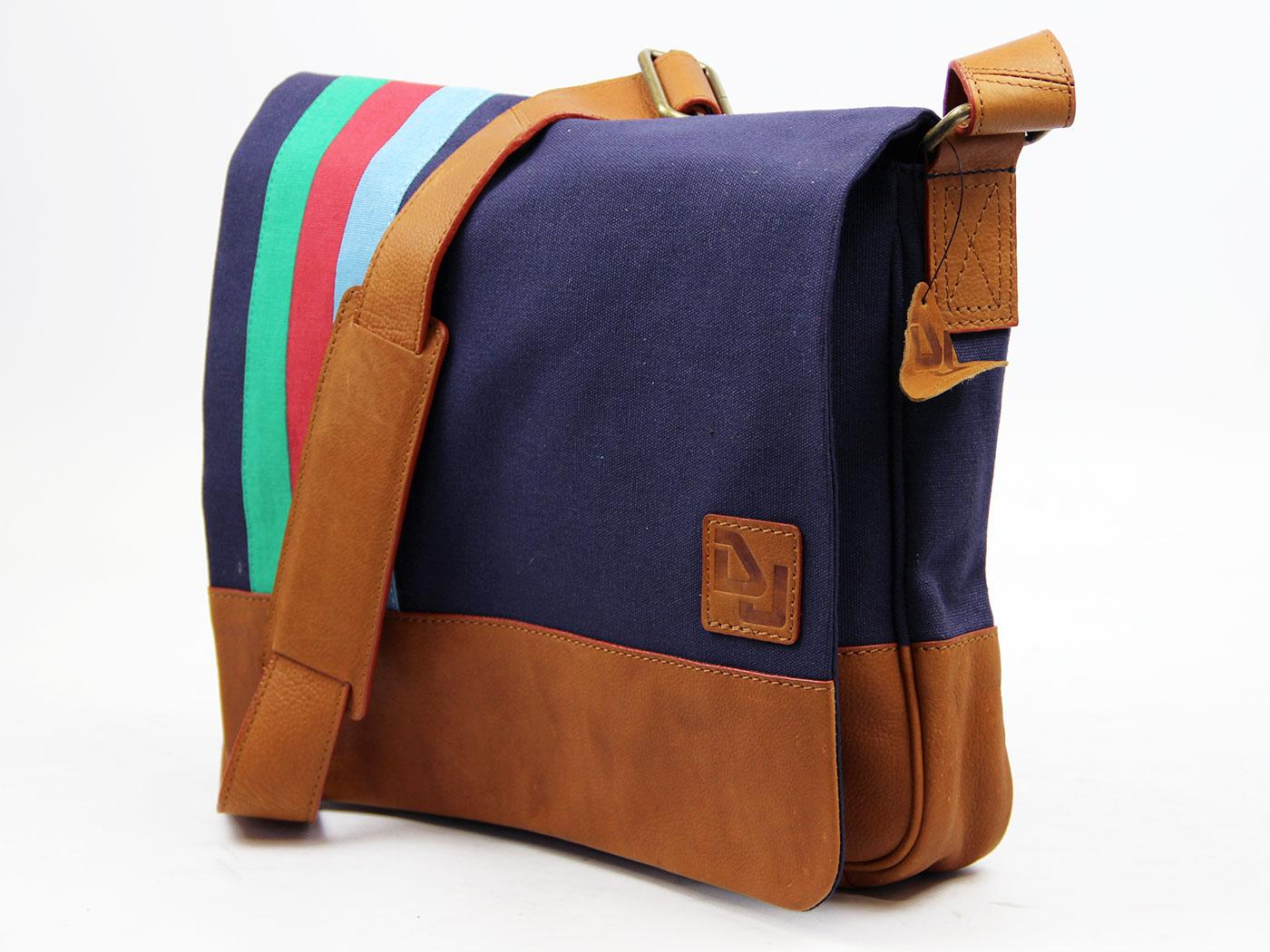 DELICIOUS JUNCTION Retro Mod Canvas Stripe Bag (N)