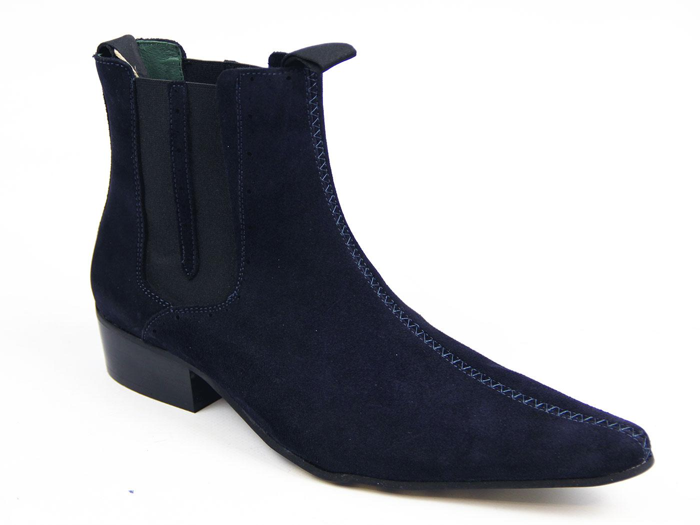 Up Beat DELICIOUS JUNCTION Brogue Chelsea Boots NS