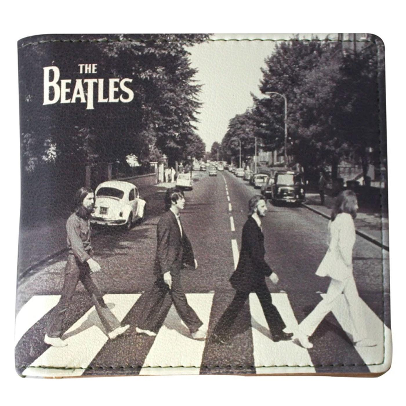 THE BEATLES Abbey Road Canvas Print Bifold Wallet