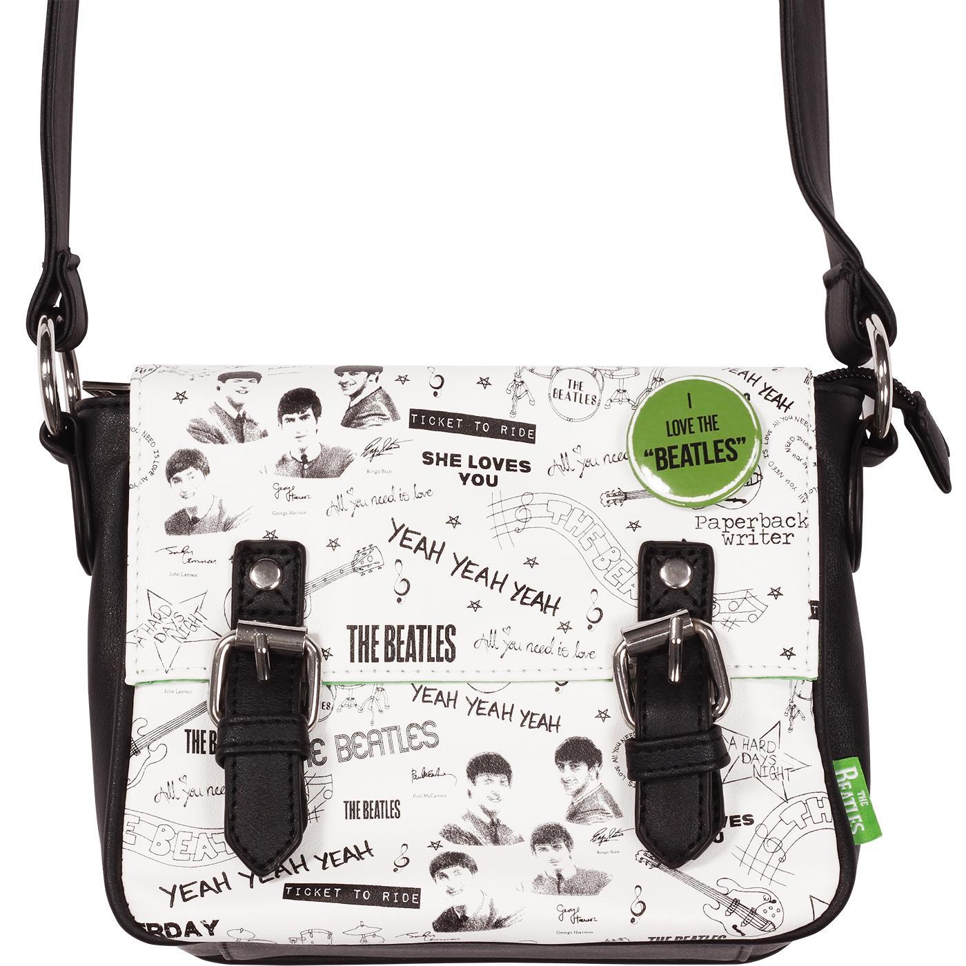 Beatles Graffiti DISASTER DESIGN Retro Mini Bag