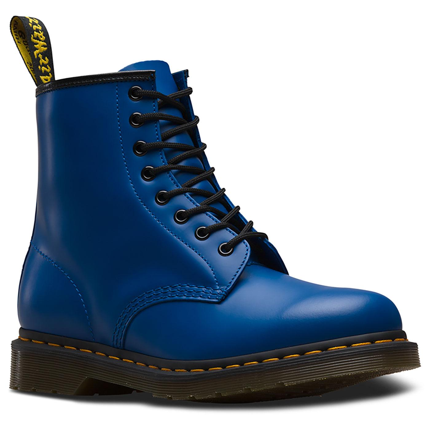 1460 Colour Pop DR MARTENS Retro Smooth Boots BLUE