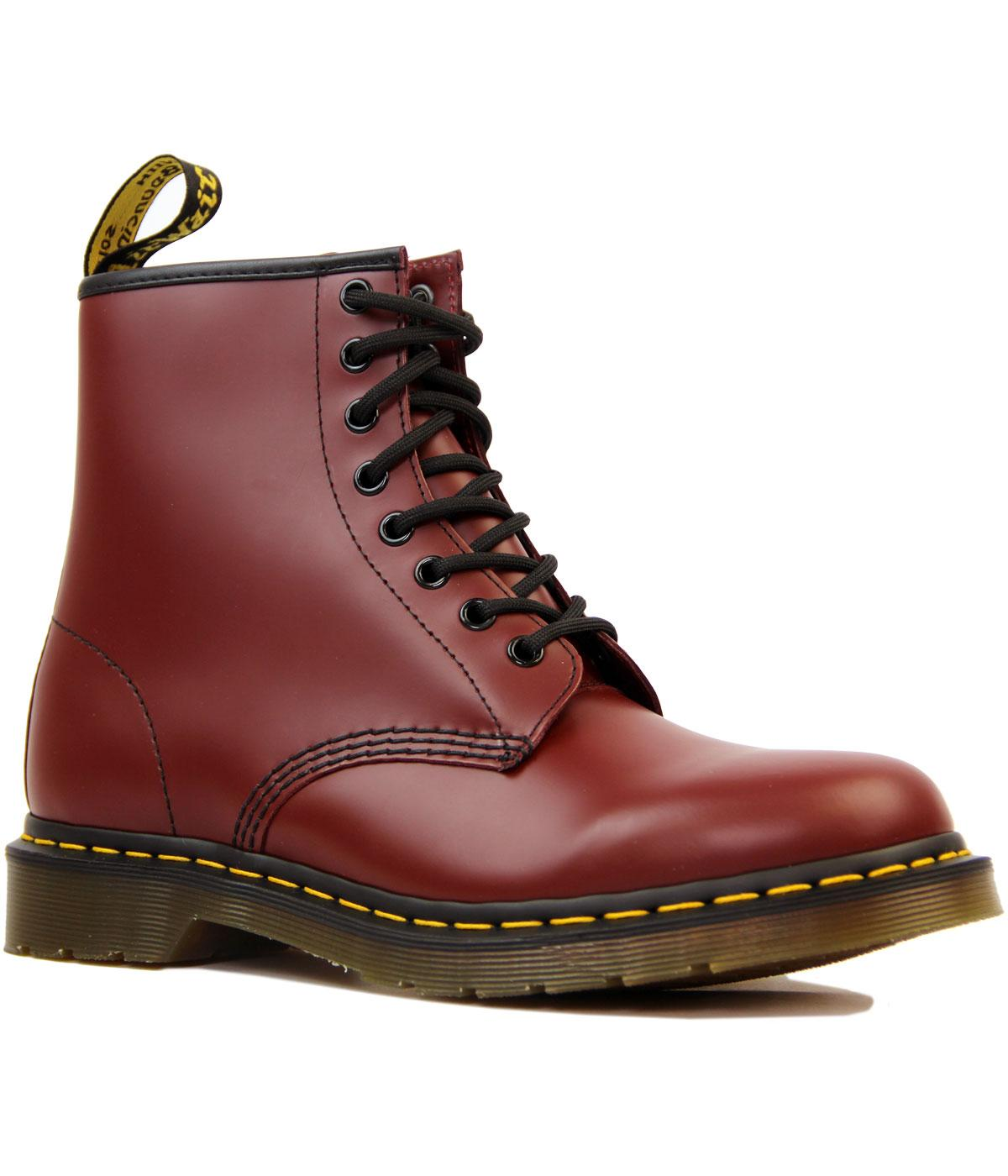 1460 DR MARTENS Mod Smooth Cherry Leather Boots