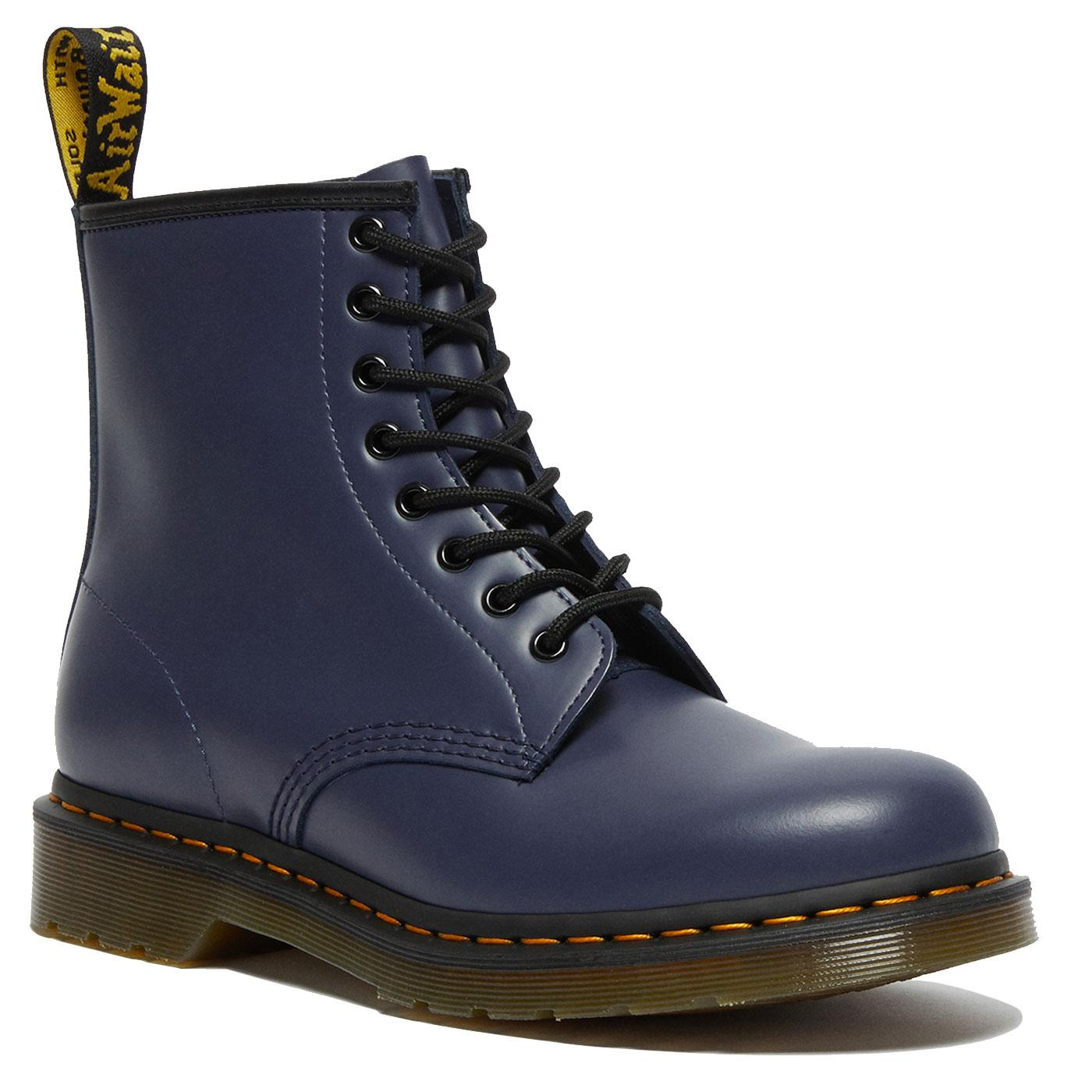1460 Smooth DR MARTENS Womens Leather Boots INDIGO