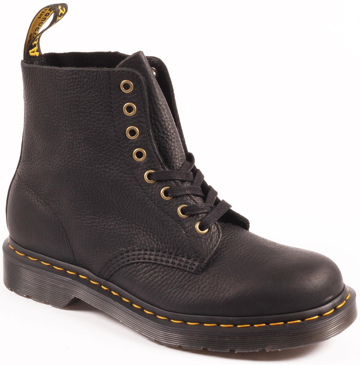 1460 Pascal DR MARTENS MENS Leather Boots BLACK