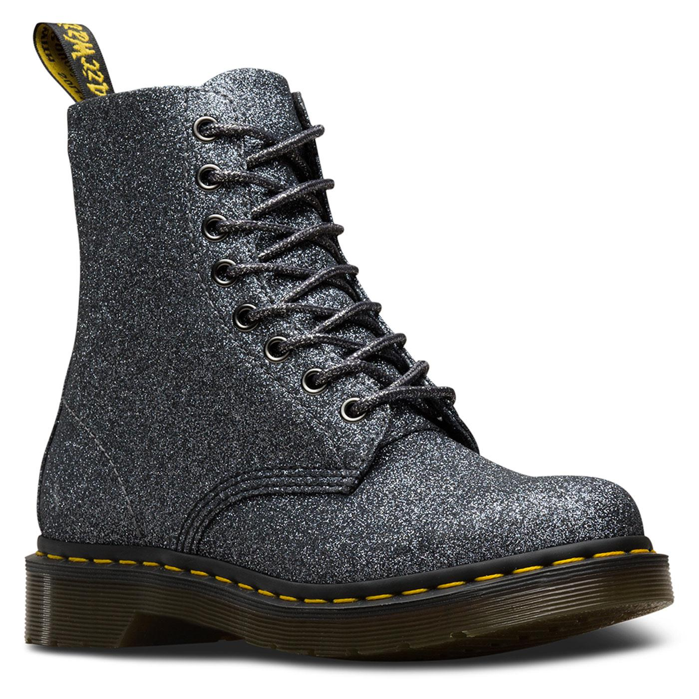 Pascal DR MARTENS 1460 Boots In Pewter Glitter