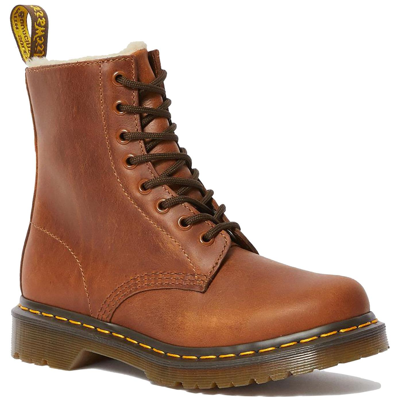 1460 Serena DR MARTENS Womens Faux Fur Lined Boots