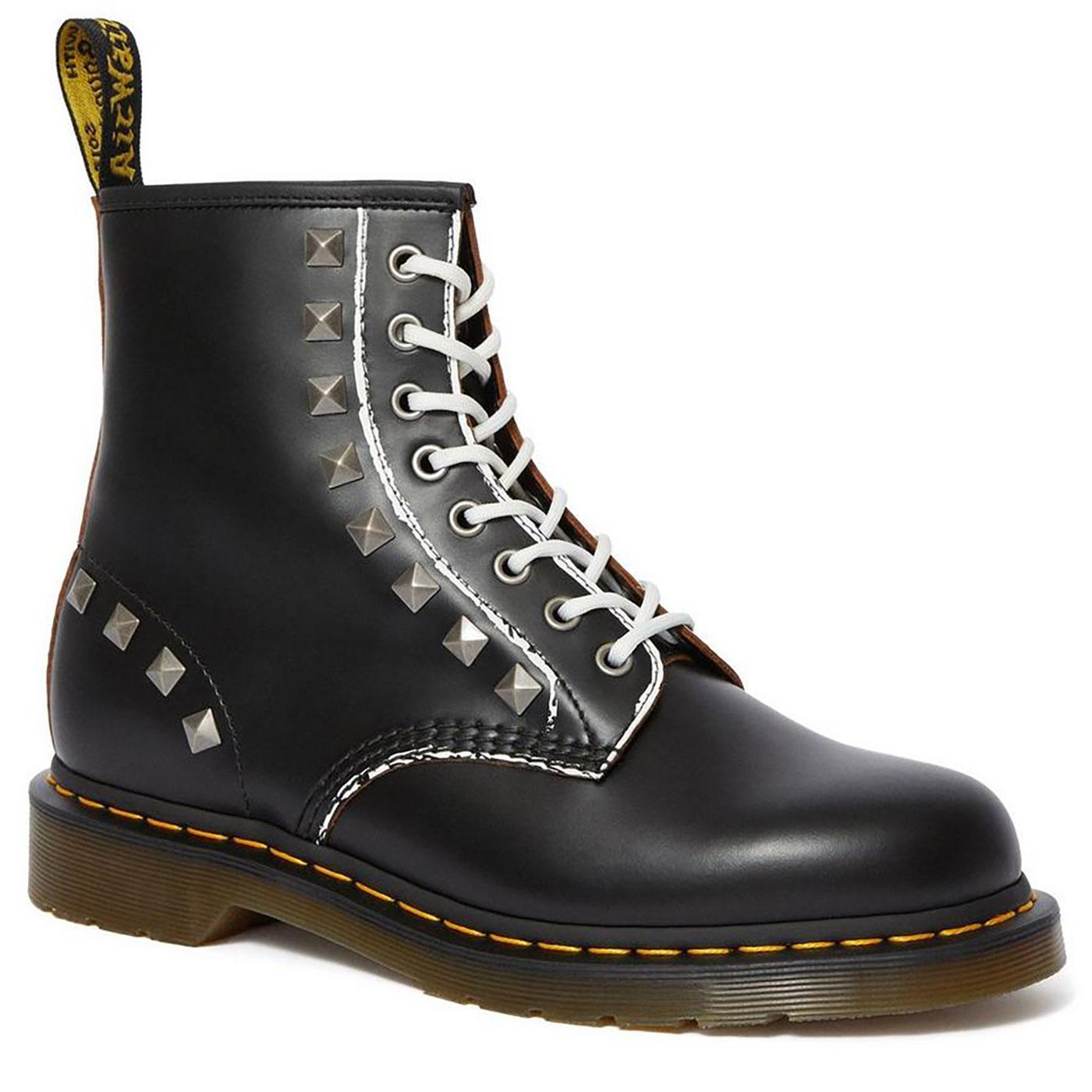 1460 Stud DR MARTENS Retro 70s Punk Leather Boots