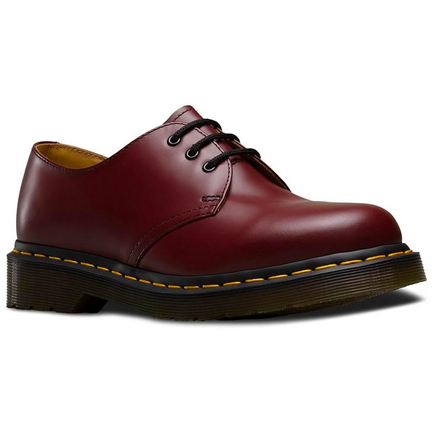 1461 DR MARTENS Men's Retro Mod 3 Eyelet Shoes CR
