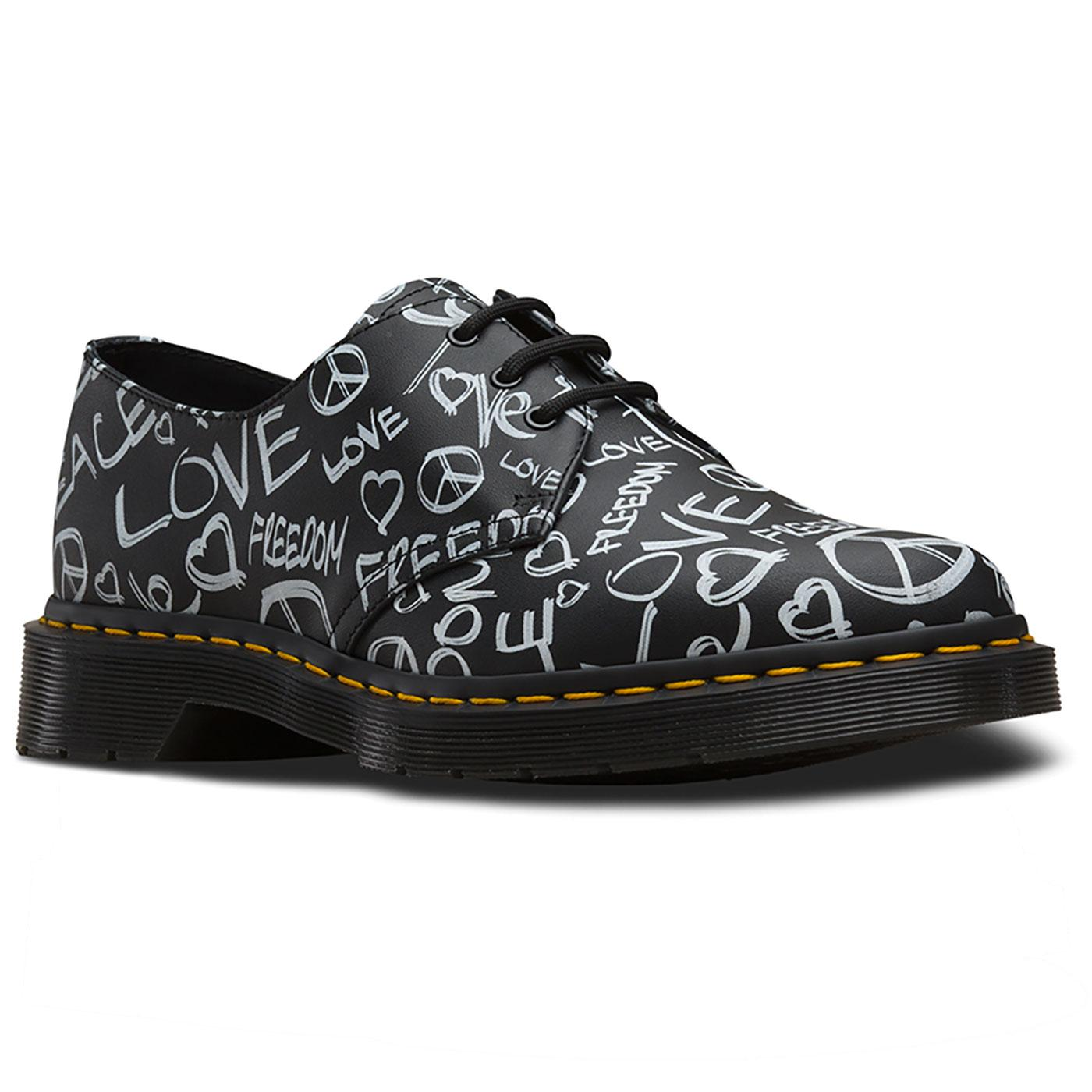 1461 Script DR MARTENS Mens 60's Protest Shoes B