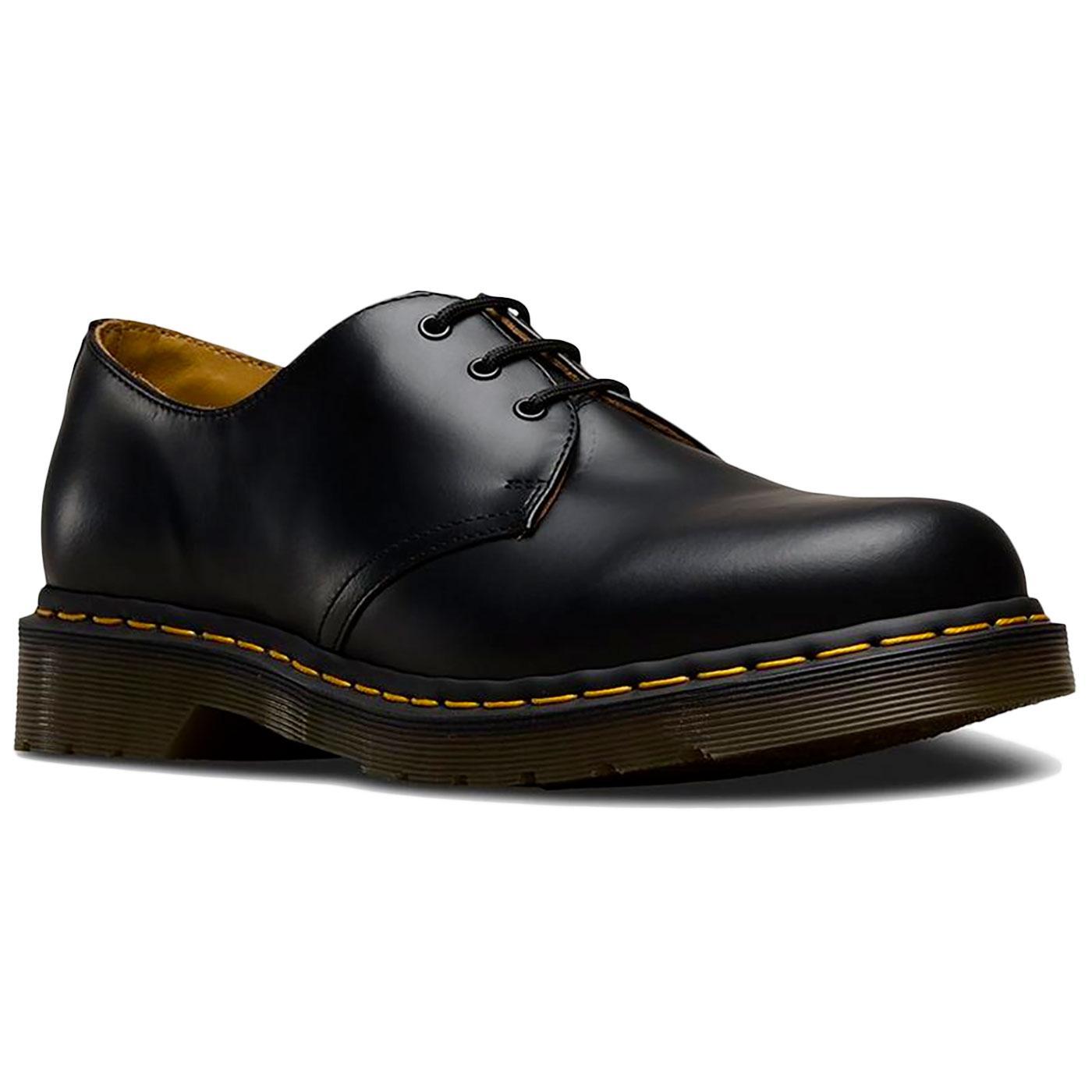 1461 DR MARTENS Retro 60s Black Retro Shoes