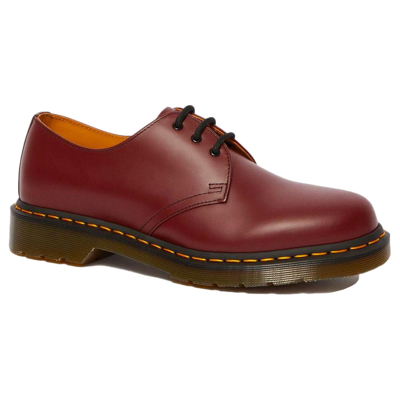 1461 DR MARTENS Women's Smooth Mod Shoes CHERRY