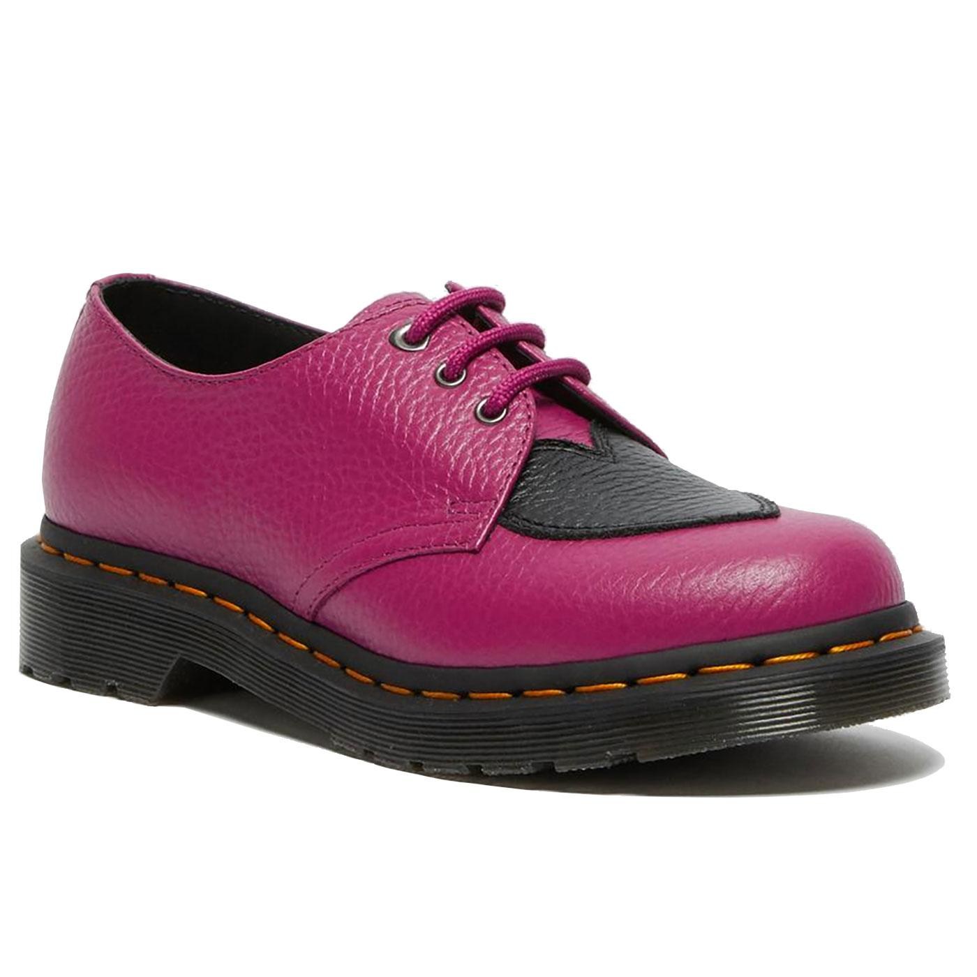 1461 Amore DR MARTENS Heart Patch Oxford Shoes F/B