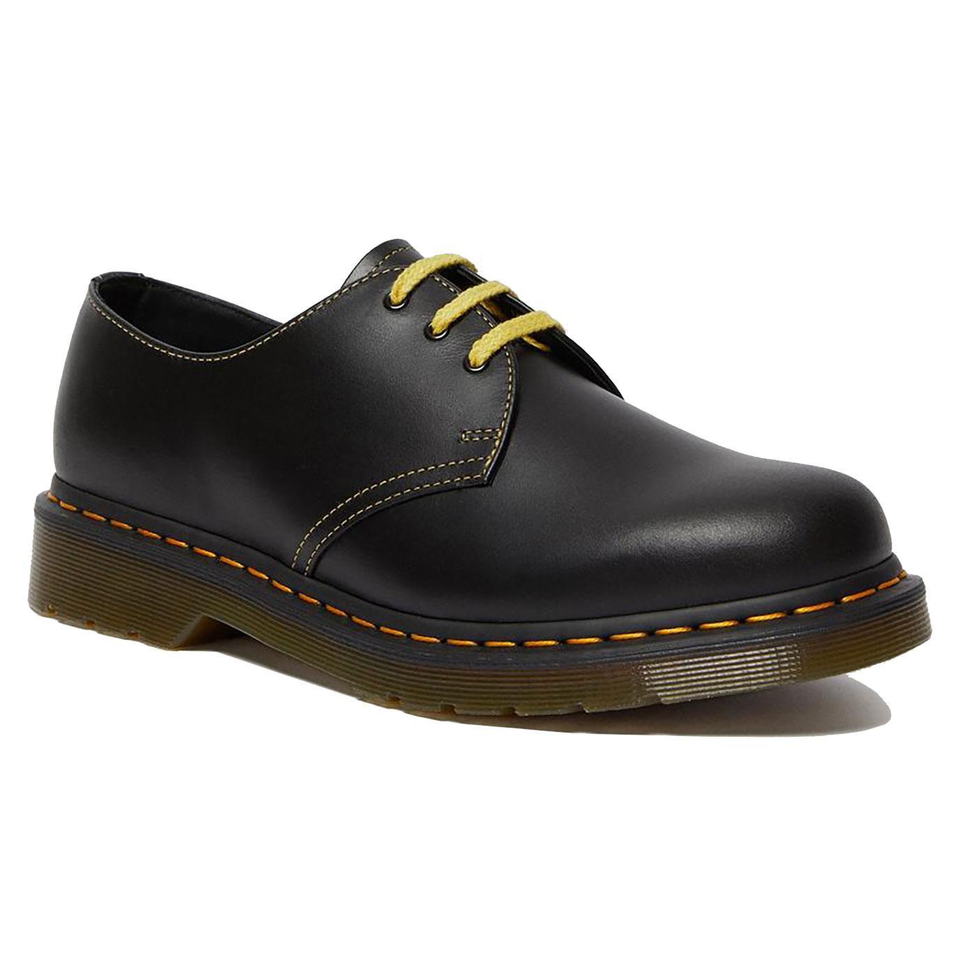 1461 DR MARTENS Mens Atlas Leather Oxford Shoes DG