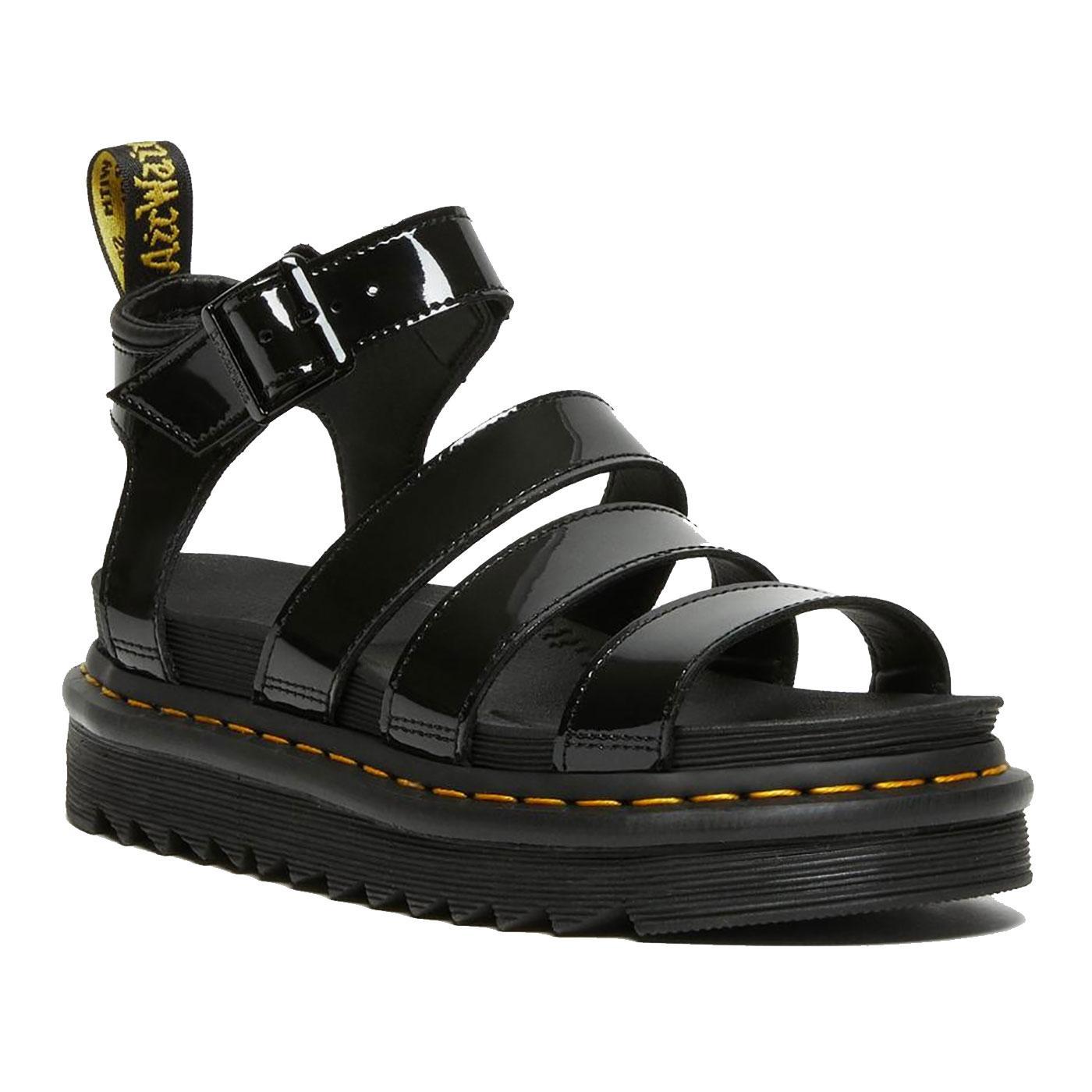 Blaire Patent Lamper DR MARTENS Women's Sandals B
