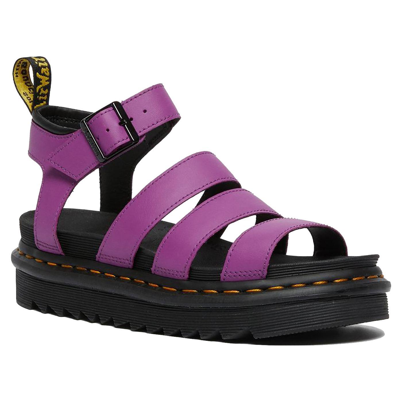 Blaire DR MARTENS Womens Retro Leather Sandals BP